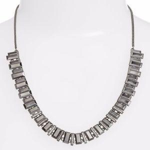 Kendra Scott   Silver Harper Collar Necklace